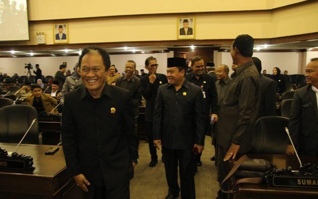 Ditetapkan Lima Pimpinan DPRD Jateng 2019-2024