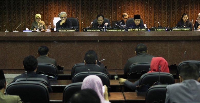 Delapan Fraksi di DPRD Jateng Terbentuk