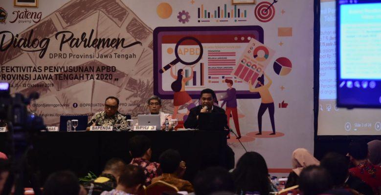 DIALOG PARLEMEN: Dorong Pendapatan Daerah Jateng 2020