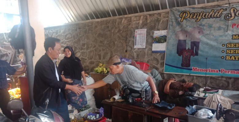 Bambang Kribo Cek Kebersihan Pasar