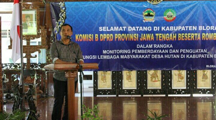 Wilayah Hutan Luas, LMDH Blora Dimonitoring