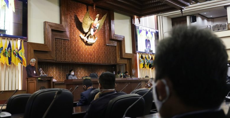 DPRD Jateng Gelar Paripurna Virtual