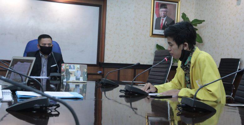 Dialog Sukirman & Mahasiswa Bahas Relaksasi Biaya Kuliah