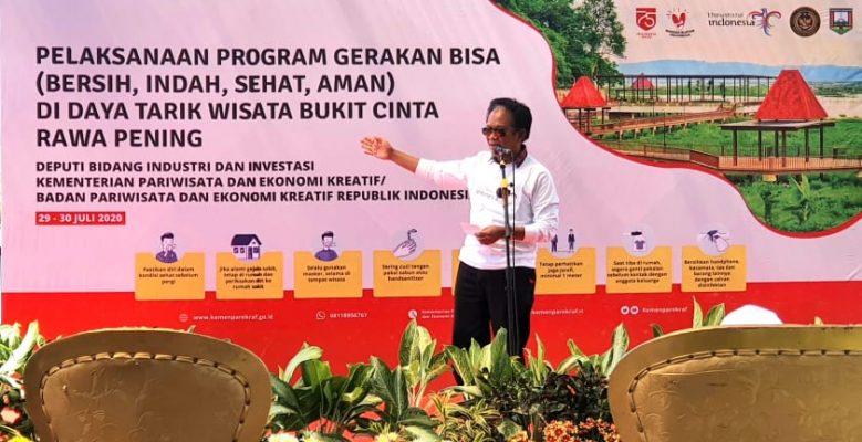 DPRD Dukung Gerakan BISA & Solusi Rawa Pening